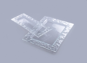 Тарелка Axum Astor :: Стеклянная тарелка Astor