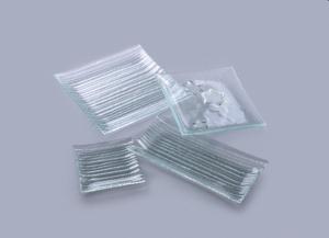 Тарелка Axum Bambus :: Тарелка из стекла Bambus