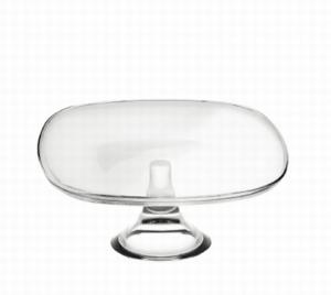 Ваза для фруктов Fenice-60152 :: Стеклянная ваза для фруктов